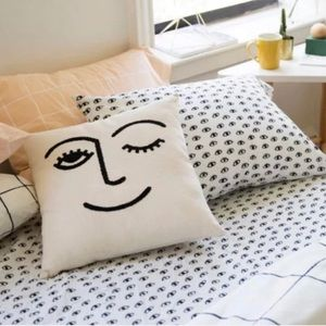 "NEW! Urban Outfitters ""Winky Eye"" Pillowcase"
